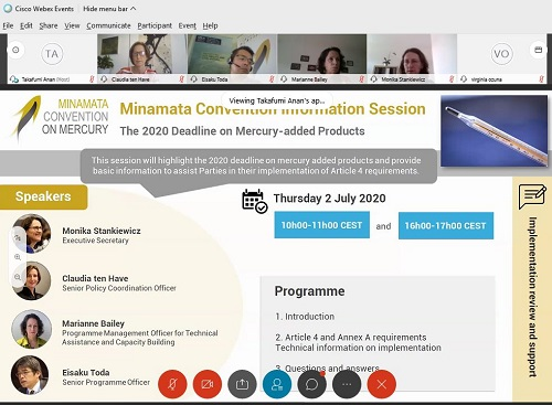 Information session: The 2020 deadline for phasing out mercury-added products